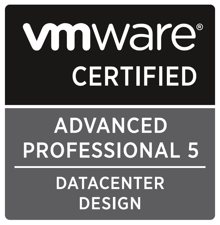 VMware Certified Advanced Professional 5 - DCD